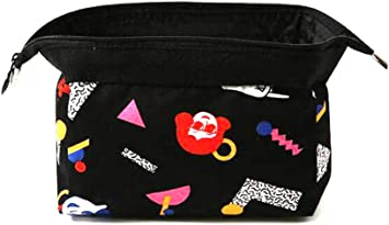 Bolsa de Maquillaje pequeña para Bolso de Viaje, Organizador de cosméticos con Cremallera, Estuche de Maquillaje para Mujeres y niñas: Amazon.es: Equipaje