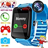 Kids Phone Smart Watch - Kids Smartwatch for 3-14 Year Boys Girls Touch Screen SOS Anti-lost Camera Game Digital Wrist Sim Card Slot Cellphone Watch Children Bracelet for Holiday Birthday Gift