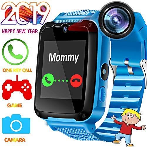 Reloj inteligente para niños con teléfono inteligente – [Speedtalk SIM incluido] reloj inteligente para niños de 3 a 14...