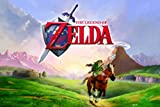 (24x36) The Legend of Zelda Ocarina of Time 3D Video Game Poster