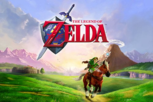 The Legend of Zelda Ocarina of Time Video Game Gaming Cool Wall Decor Art Print Poster 36x24 inch