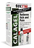 Calagel Maximum Strength Anti-Itch Gel, With Free 2-Ounce Tecnu Outdoor Skin Cleanser, 6-Ounce,  (Pack of 3)