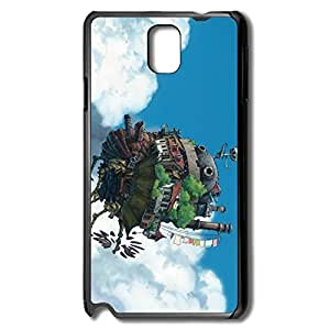 Howls Moving Castle Scratch Case Cover For Samsung Note 3 - Cool Style Case