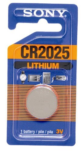 Sony Pda Battery - Sony CR2025 Lithium Coin Battery (1 Battery)