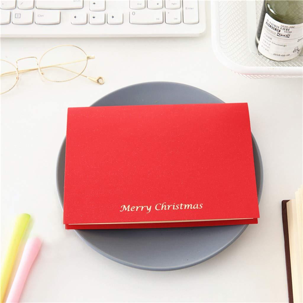 tecnologia Virtual Imaging Technology biglietto di auguri di Natale 3D stereo YA-Uzeun regali creativi A#multicolor