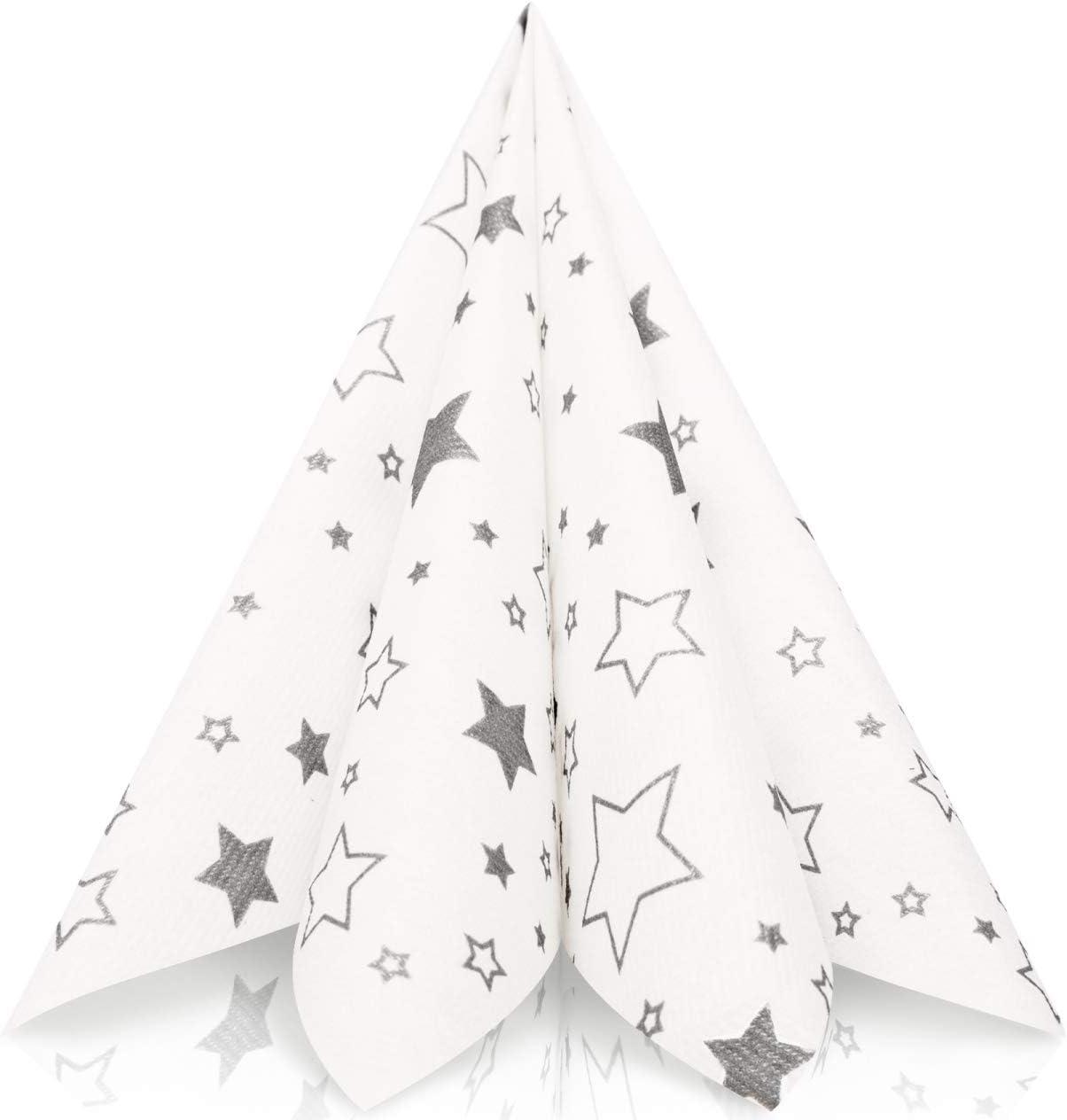 Red Pre Folded Star Fold Napkin - 24 Ct. - FancyNap | 1266x1207