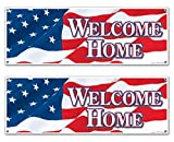 Welcome Home Sign Banner Party Accessory
