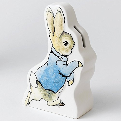 Beatrix Potter Peter Rabbit Running Money Bank (Peter Bank Rabbit)