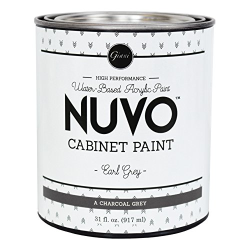 Nuvo Cabinet Paint Earl Grey Quart (Best Paint For Wood Kitchen Cabinets)