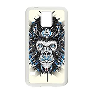 Animal Art Artificial Personalized Cover Case with Hard Shell Protection for SamSung Galaxy S5 I9600 Case lxa#836583