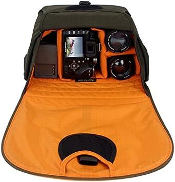Crumpler Muffin Top 5500 Olive Orange Kamera