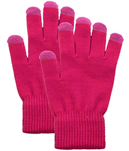 Simplicity Solid Colored Knitted Winter Touchscreen Sensitive Gloves