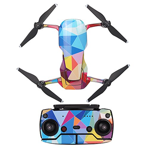 Smdoxi_toys Rc Airplane Drone Helicopter Remote Control Toy Car Waterproof PVC 3D Stickers Decal Skin Cover Protector for DJI Mavic Air Drone RC