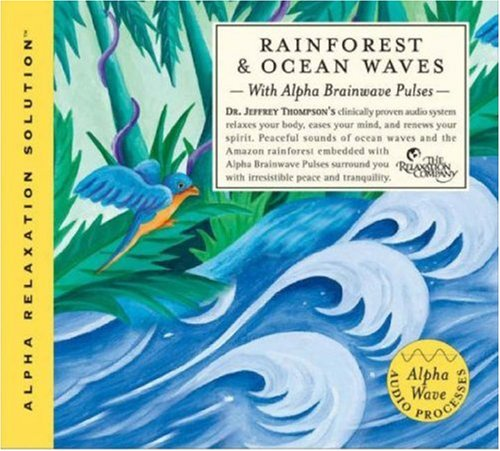 Rainforest and Ocean Waves (Alpha Relaxation Solution) by Brand: Sounds True, Incorporated