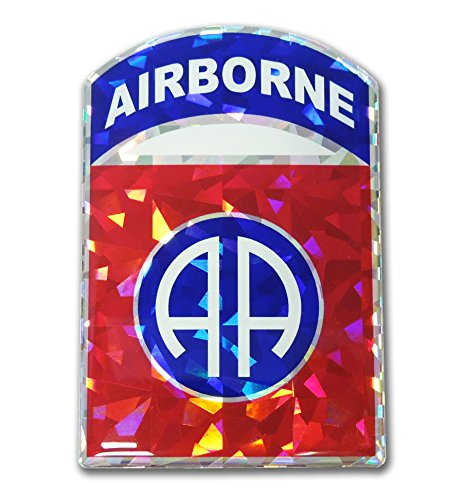 Elektroplate U.S. Army 82nd Airborne Red 3D Reflective Decal