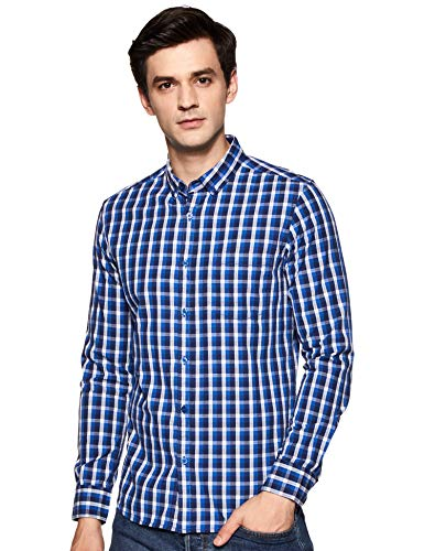 Amazon Brand – Symbol Men's Slim Casual Shirt