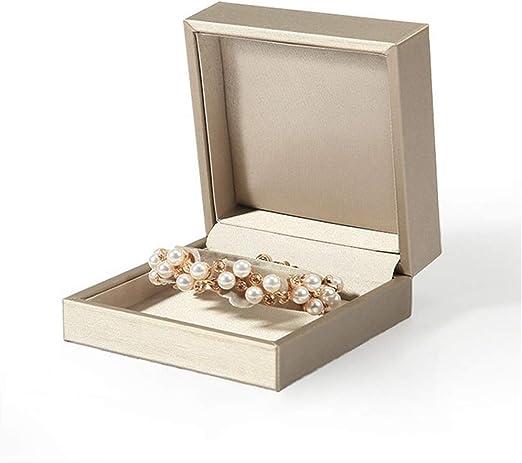 Joyero con caja para anillos, pendientes, anillos, pendientes ...
