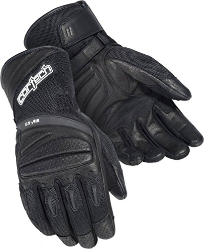 Cortech Men's GX-Air 4 Glove (Black, Large) (Cortech Motorcycle Gloves)