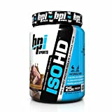 BPI Iso-HD - 100% Whey Protein Isolate & Hydrolysate - Chocolate Brownie - 23 Servings