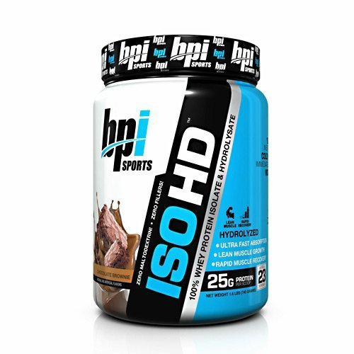BPI Iso-HD - 100% Whey Protein Isolate & Hydrolysate - Chocolate Brownie - 23 Servings by BPI ()