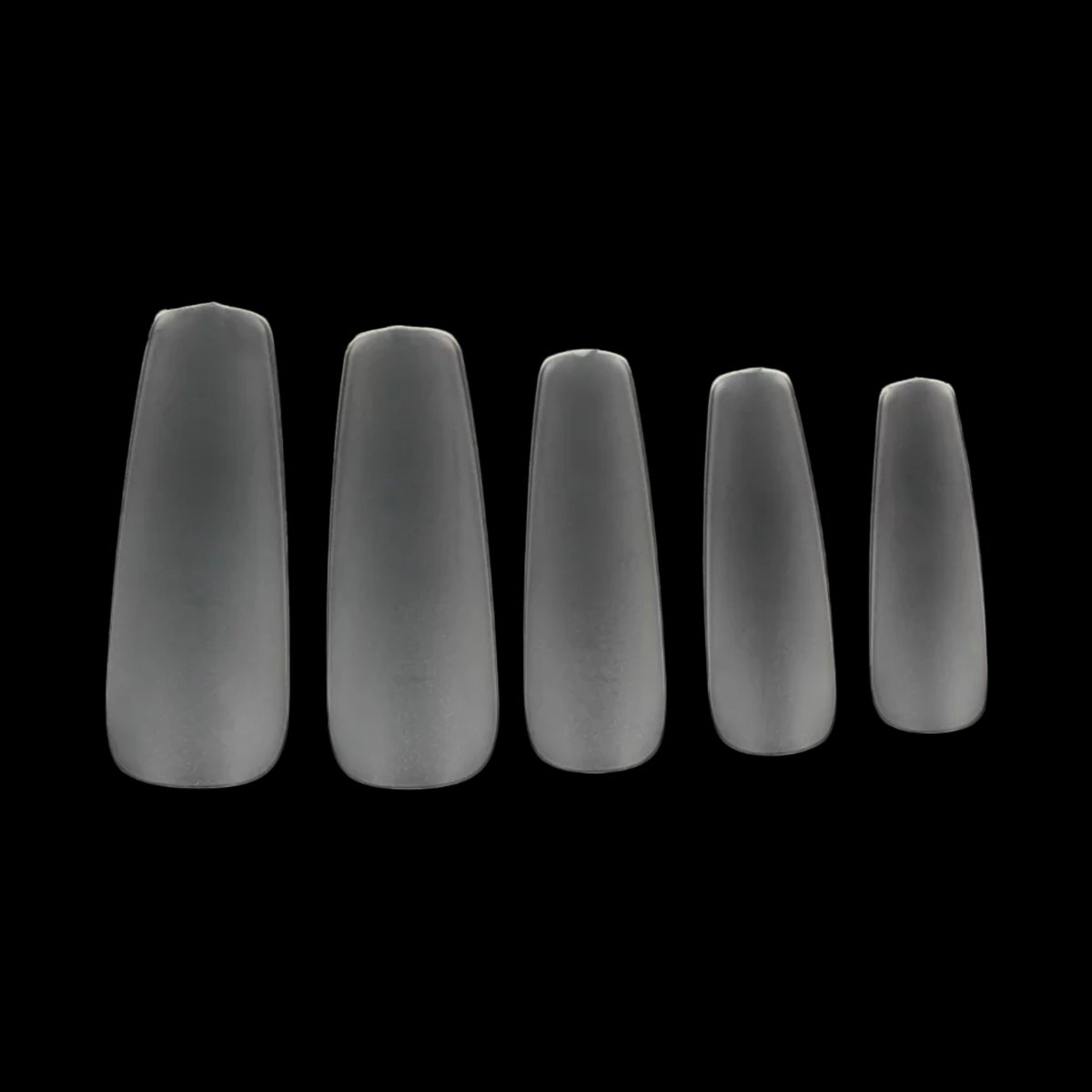 Amazon.com: Makartt 360pcs/box Coffin Nails Ultra Thin Clear False ...