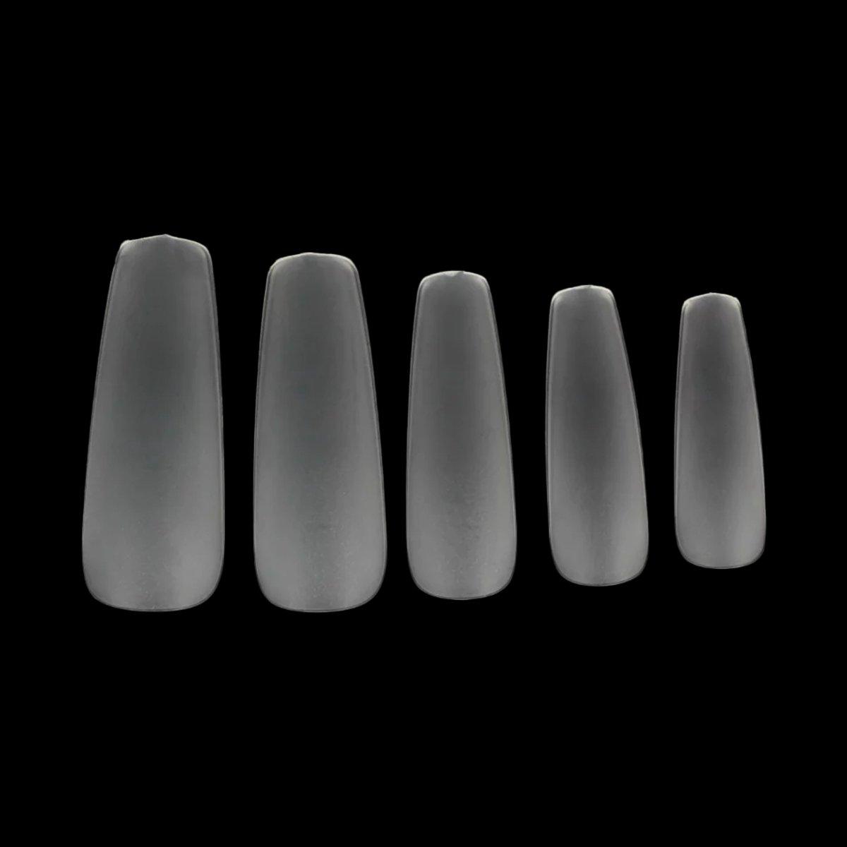 Amazon.com: Makartt 360pcs/box Coffin Nails Ultra Thin Clear False ...