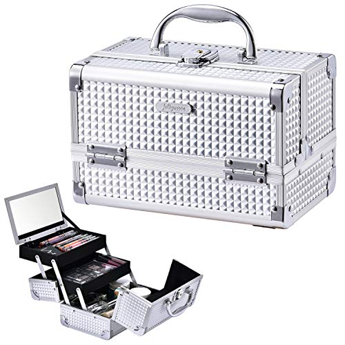 Joligrace Cosmetic Organizer Lockable Portable