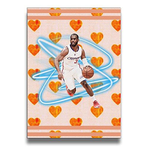 [ReBorn Basketball Paul Frameless Giclee Artwork Painting For Home Office Decor] (Wiener Dog Spider Costume)