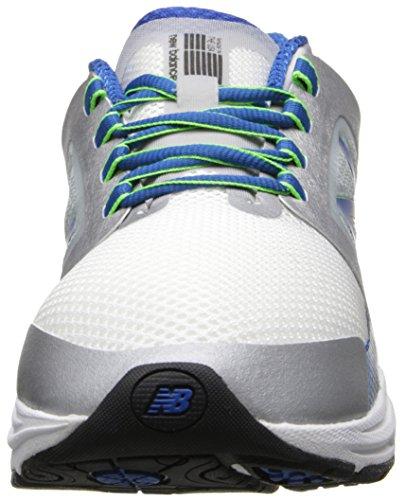 New Balance Men's M3040 Optimum Control Running Shoe,Silver/Blue,10 4E US Silver / Blue