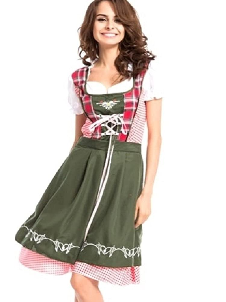 95fc75b59702e CLUBCORSETS Ladies Heidi Oktoberfest Beer Maid Wench German Bavarian Fancy  Dress Costume Sizes S-3XL: Amazon.co.uk: Clothing