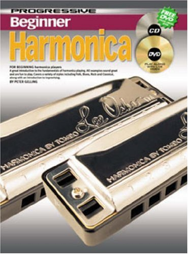 Progressive Harmonica (CP69171 - Progressive Beginner Harmonica - Book/CD/DVD)