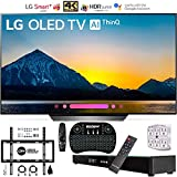 LG OLED65B8PUA 65B8 OLED 4K HDR AI Smart TV & Wireless Keyboard+ Wall Bracket Bundle