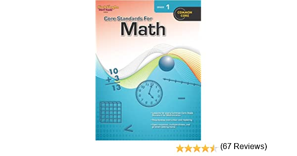 Core Standards for Math Grade 1 by Steck-Vaughn Company (2012-06 ...