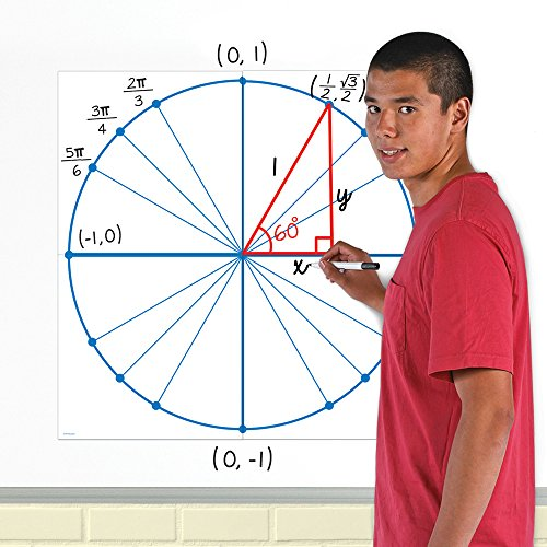 Unit Circle - EAI Education Jumbo Magnetic Unit Circle