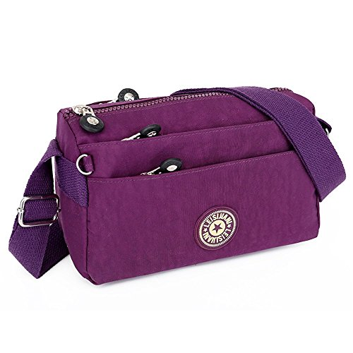 3 Casual Bag Splash purple Anti Crossbody customized Water ABLE Bags Messenger Shoulder XzwFBqWfxZ