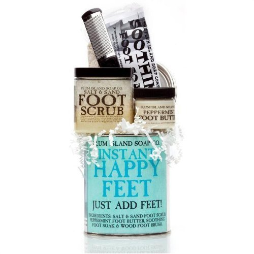 (Plum Island Instant Happy Feet Gift Set, New Mom Gift)