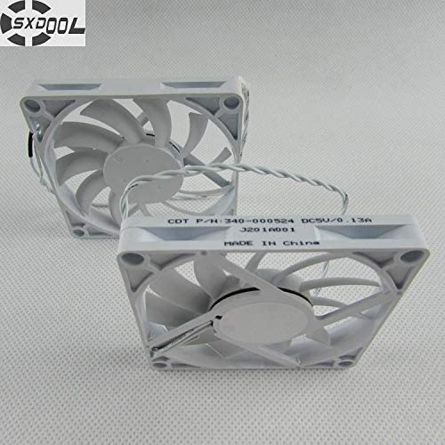 SXDOOL 808010 mm 80mm 8cm DC 5V 0.13A silent quiet axial thickness thin cooling fan