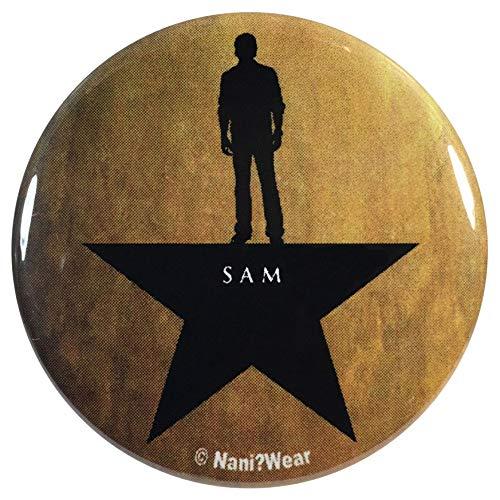 NaniWear Supernatural Sam Winchester Hamilton Mashup 2.25 Inch Geek Button (Winchester Sam Button)