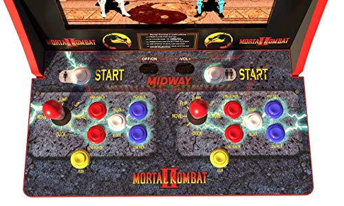 ARCADE1up Mortal Kombat, Mortal Kombat II, Mortal Kombat 3 (Available 2019) by ARCADE1up (Image #2)
