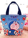 CJB Doraemon Lovely Multipurpose Lunch Bag (Blue Doraemon)