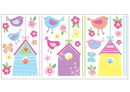 Fun4Walls WS40249 Bird Houses Wall Stickers