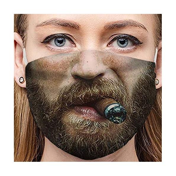 AmyGline-Lustige-Mundschutz-Bandanas-mit-3D-Motiv-Waschbar-Mund-Nasen-Schutz-Wiederverwendbare-Staubdicht-Atmungsaktiv-Multifunktionstuch-Halstuch