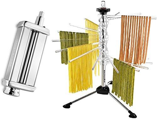 KitchenAid KPSA Stand-Mixer Pasta-Roller Attachment [Discontinued] (Kitchenaid Pasta Attachment compare prices)