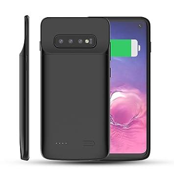 Forhouse Funda Batería Samsung Galaxy S10 5000mAh Funda de Carga Protectora Cargador Externo Recargable Ultra Delgado Indicador de Encendido LED para ...