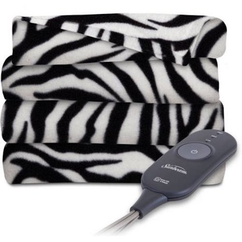 zebra heated blanket - 2