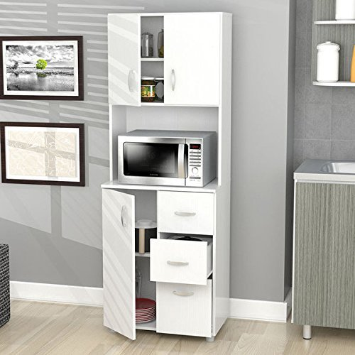 Inval Tall Kitchen Storage Cabinet
