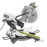 Ryobi ZRTSS120L 15 Amp 12 in. Sliding Miter Saw with Laser (Renewed)