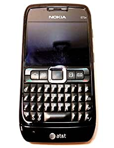 Nokia E71x Unlocked GSM Symbian 9.2 OS QWERTY Cell Phone - Black