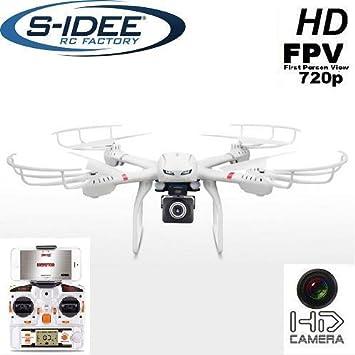 s-idee® 01610 - Cuadricóptero X101, WiFi HD, Cámara MJX X101 con ...
