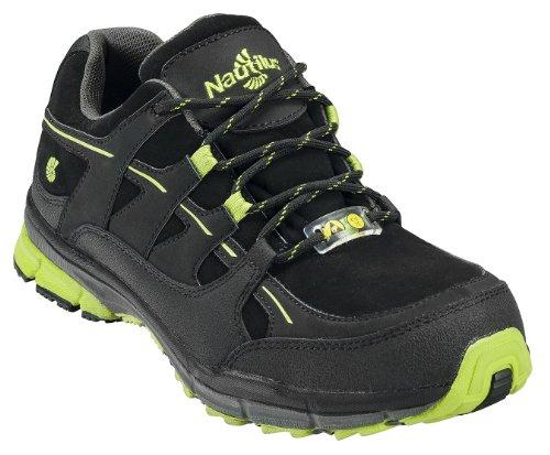 Nautilus Safety Footwear Men's 1729 Shoe,Black/Lime,13 M US